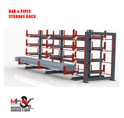 Bar And Pipes Storage Racks